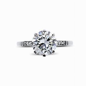 Vintage Brilliant Cut Engagement Ring 1.19ct G SI2 HRD